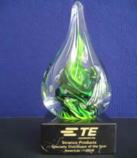 Te Connectivity Award